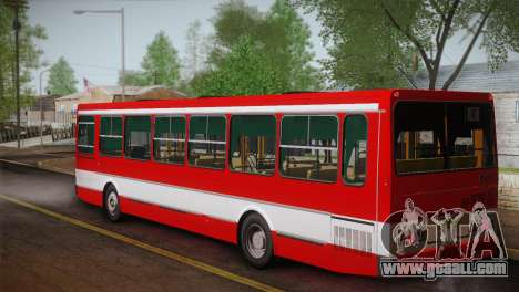 LIAZ 5256.00 Skin-Pack 1 for GTA San Andreas back view