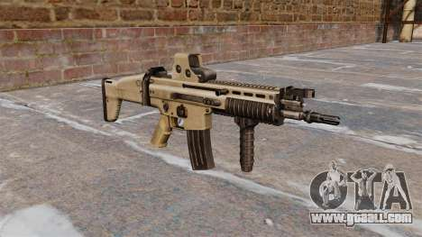 Assault rifles FN SCAR-L for GTA 4