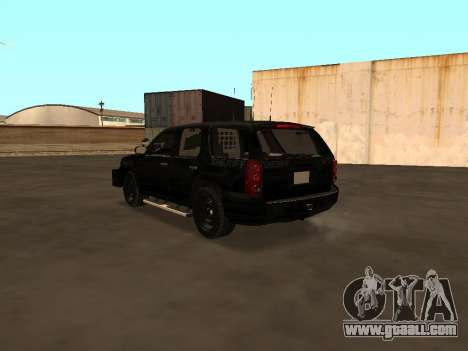 GMC Yukon ATTF for GTA San Andreas right view