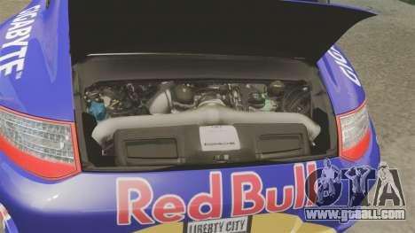 Porsche 911 Sport Classic 2010 Red Bull for GTA 4 inner view