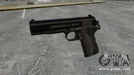 Colt M1911 pistol v1 for GTA 4 third screenshot