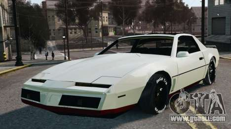 Pontiac Trans Am 1982 Beta v0.1 for GTA 4