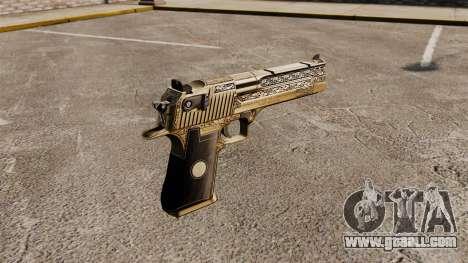 Luxury Desert Eagle pistol for GTA 4 second screenshot