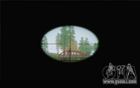 Enhanced Sniper Scope v1.1 for GTA San Andreas