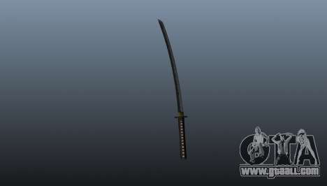 The long Japanese sword Katana for GTA 4
