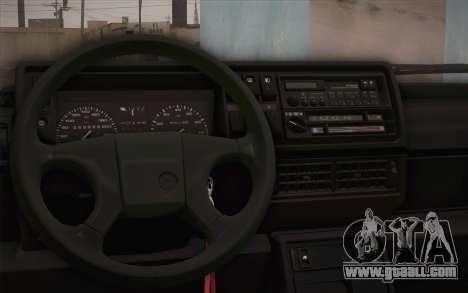 Volkswagen Golf Mk2 GTI for GTA San Andreas back view