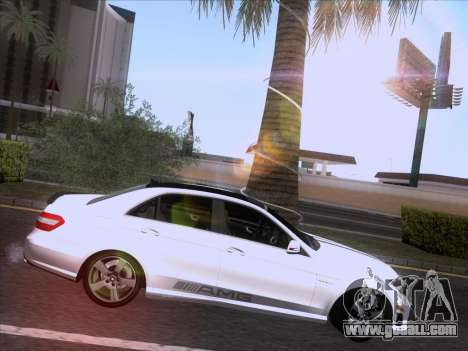 Mercedes-Benz E63 AMG 2011 Special Edition for GTA San Andreas side view