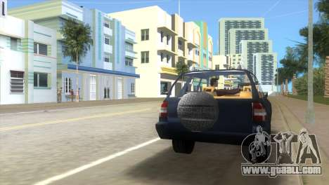 Opel Frontera for GTA Vice City back left view