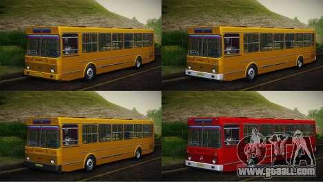 LIAZ 5256.00 Skin-Pack 5 for GTA San Andreas
