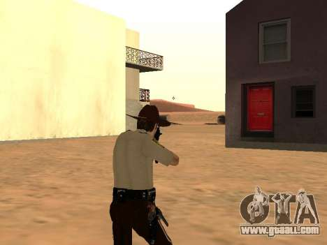 Rick Grimes for GTA San Andreas fifth screenshot