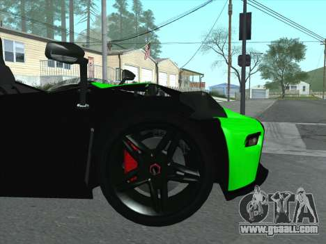 KTM Xbow R for GTA San Andreas side view