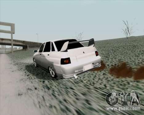 VAZ 2110 v2 for GTA San Andreas right view