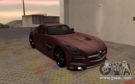 Mercedes-Benz SLS AMG 2013 Black Series for GTA San Andreas