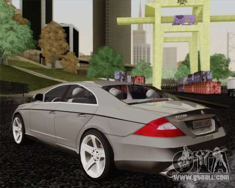 Mercedes-Benz CLS500 for GTA San Andreas left view