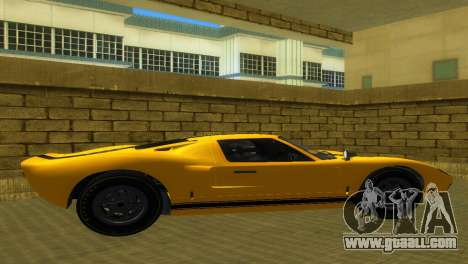 Ford GT40 MkI 1965 for GTA Vice City back view