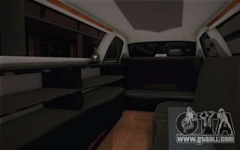 Chrysler 300C Limo 2007 for GTA San Andreas bottom view