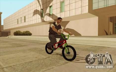 BMX for GTA San Andreas engine