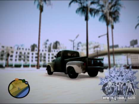 Ford Frieghter 1949 for GTA San Andreas left view