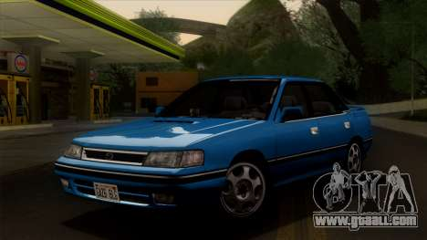 Subaru Legacy 2.0 RS (BC) 1989 for GTA San Andreas