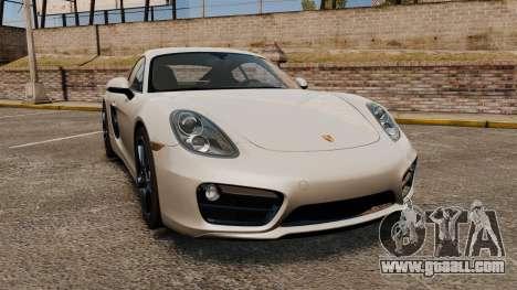 Porsche Cayman S 981C for GTA 4