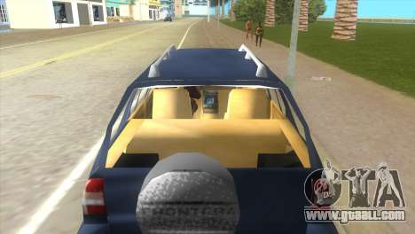 Opel Frontera for GTA Vice City right view