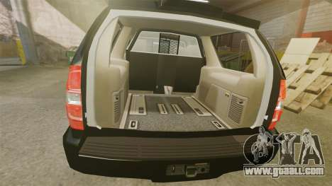 Chevrolet Tahoe 2008 LCPD STL-K Force [ELS] for GTA 4 inner view