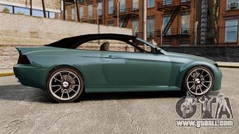 GTA V Zion XS Cabrio for GTA 4 left view