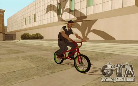 BMX for GTA San Andreas inner view