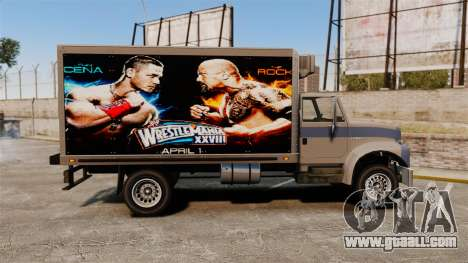 Stars of wrestling at Yankee for GTA 4 back view
