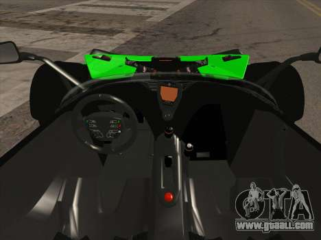 KTM Xbow R for GTA San Andreas back view