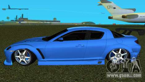 Mazda RX8 Type 1 for GTA Vice City back view