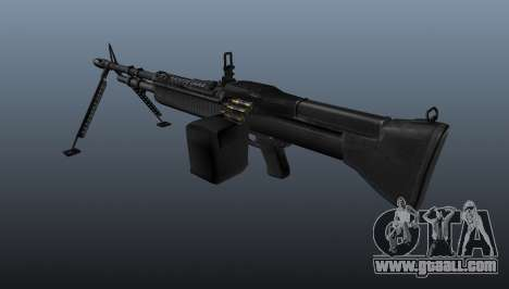M60 general purpose machine gun for GTA 4 second screenshot
