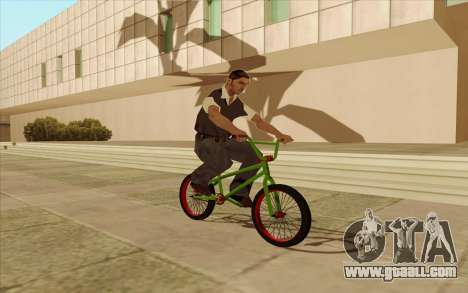 BMX for GTA San Andreas back view