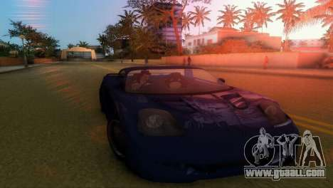 Toyota MR-S Veilside Hardtop for GTA Vice City left view