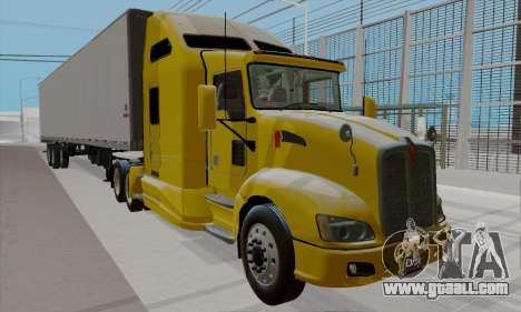 Kenworth T660 2011 for GTA San Andreas right view