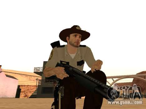 Rick Grimes for GTA San Andreas sixth screenshot
