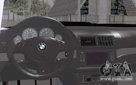 BMW M5 Street for GTA San Andreas right view