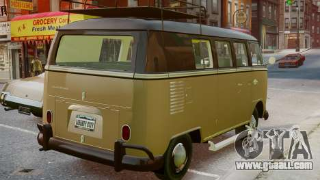 Volkswagen Transporter 1962 for GTA 4 left view