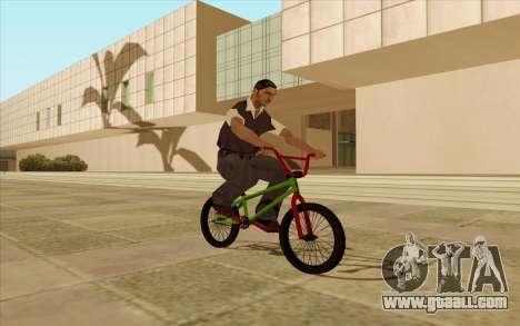 BMX for GTA San Andreas wheels