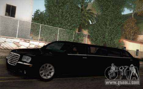 Chrysler 300C Limo 2007 for GTA San Andreas left view