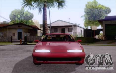 Uranus Fix for GTA San Andreas back left view