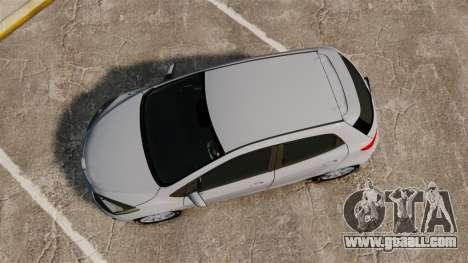 Mazda 2 for GTA 4 right view