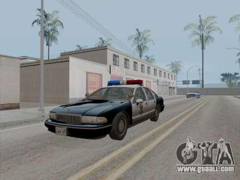 Chevrolet Caprice LAPD 1991 [V2] for GTA San Andreas