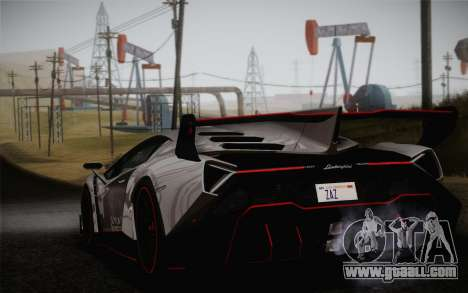 Lamborghini Veneno LP750-4 2013 for GTA San Andreas left view