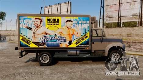 Stars of wrestling at Yankee for GTA 4 inner view