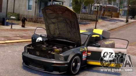 Shelby Terlingua Mustang for GTA 4 interior