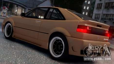 Volkswagen Corrado VR6 1995 for GTA 4 upper view