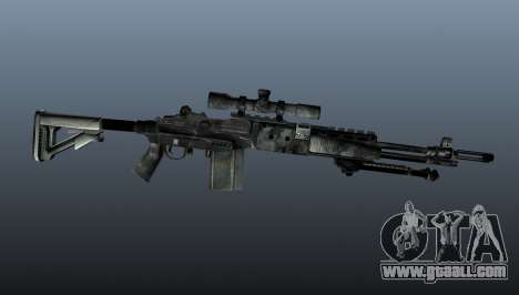 Sniper rifle M21 Mk14 v3 for GTA 4 third screenshot