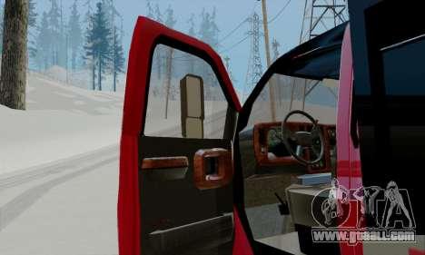 GMC C4500 Topkick for GTA San Andreas back view