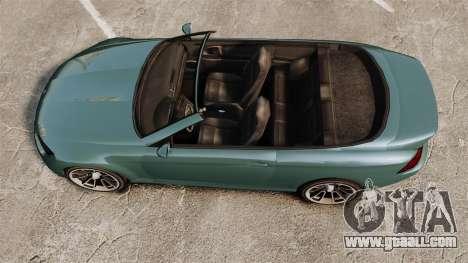 GTA V Zion XS Cabrio for GTA 4 right view